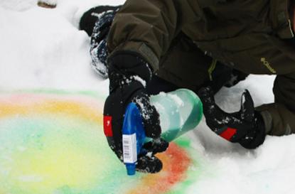 DIY SNOW PAINTS -