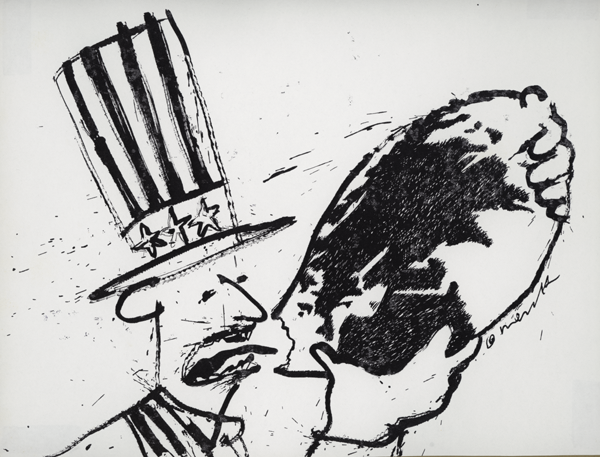 Uncle Sam loves the world..oh, yeah!