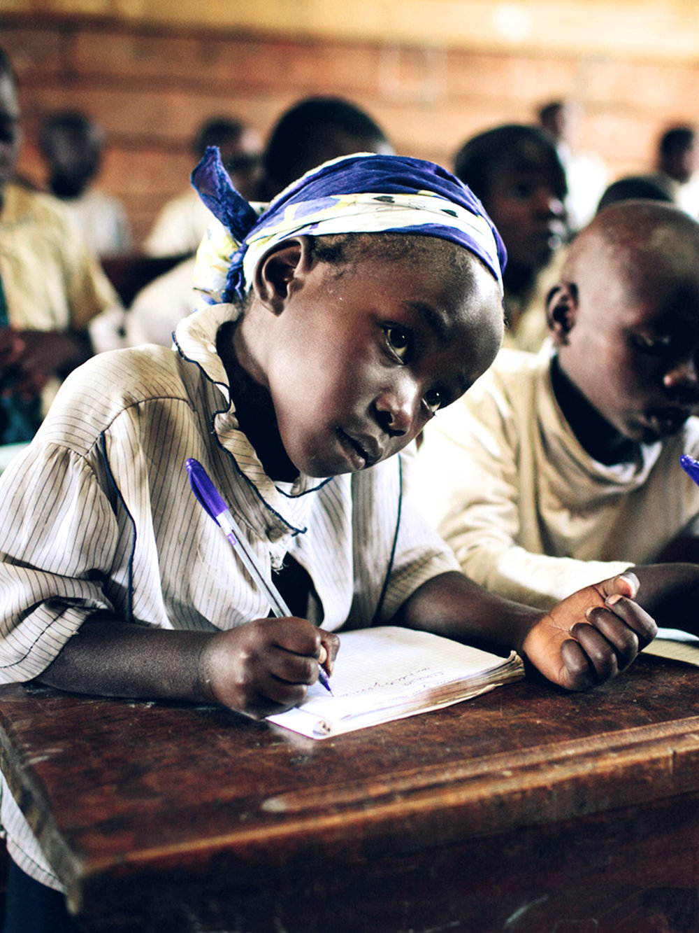Our Vision - Our vision is to improve the standard of and access to girls' education globally.Learn More