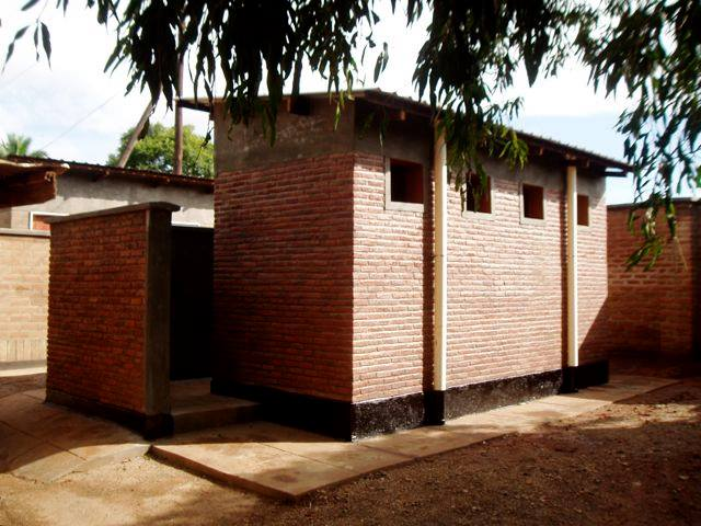 Lilongwe Girls' School Toilet Block - EGG recognised that at Lilongwe Girls' School, one of the largest barriers to achieving an education was the limited and unsanitary access to toilets. Girls would spend all day queuing for the toilet instead of being in class, or they would not turn up to school at all.EGG built two pit latrine toilet blocks (of 4 toilets each) at the school. The toilets are sanitary, require very little maintenance or on-going costs, and have reduced waiting time for the girls. Each cubicle is lockable, ensuring privacy for the girls.