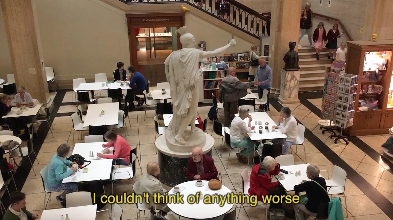 Still from  Spherical Bastards , digital video