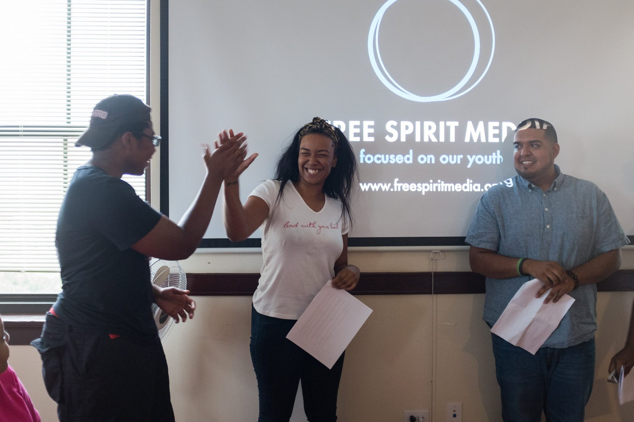 INTERESTED? - Are you a Chicago teen looking to advance your broadcast production skills?Fill out Free Spirit Media's Interest form and select