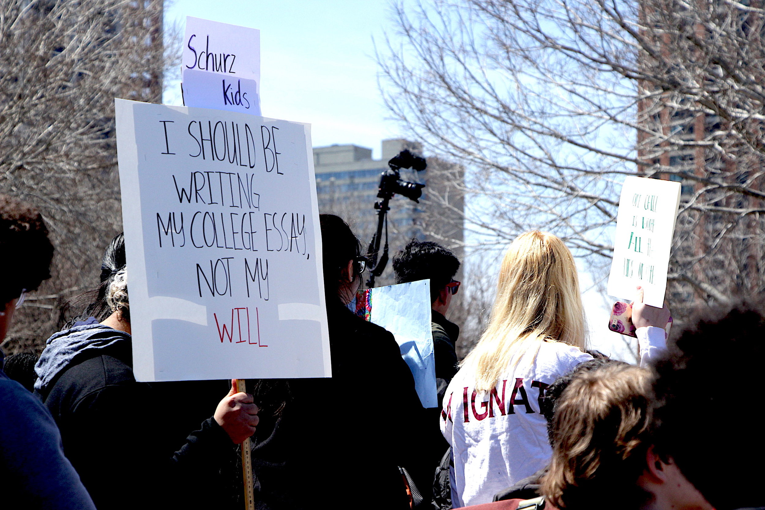 19 years after the Columbine shooting, students are fed up that their schools still aren't safe.