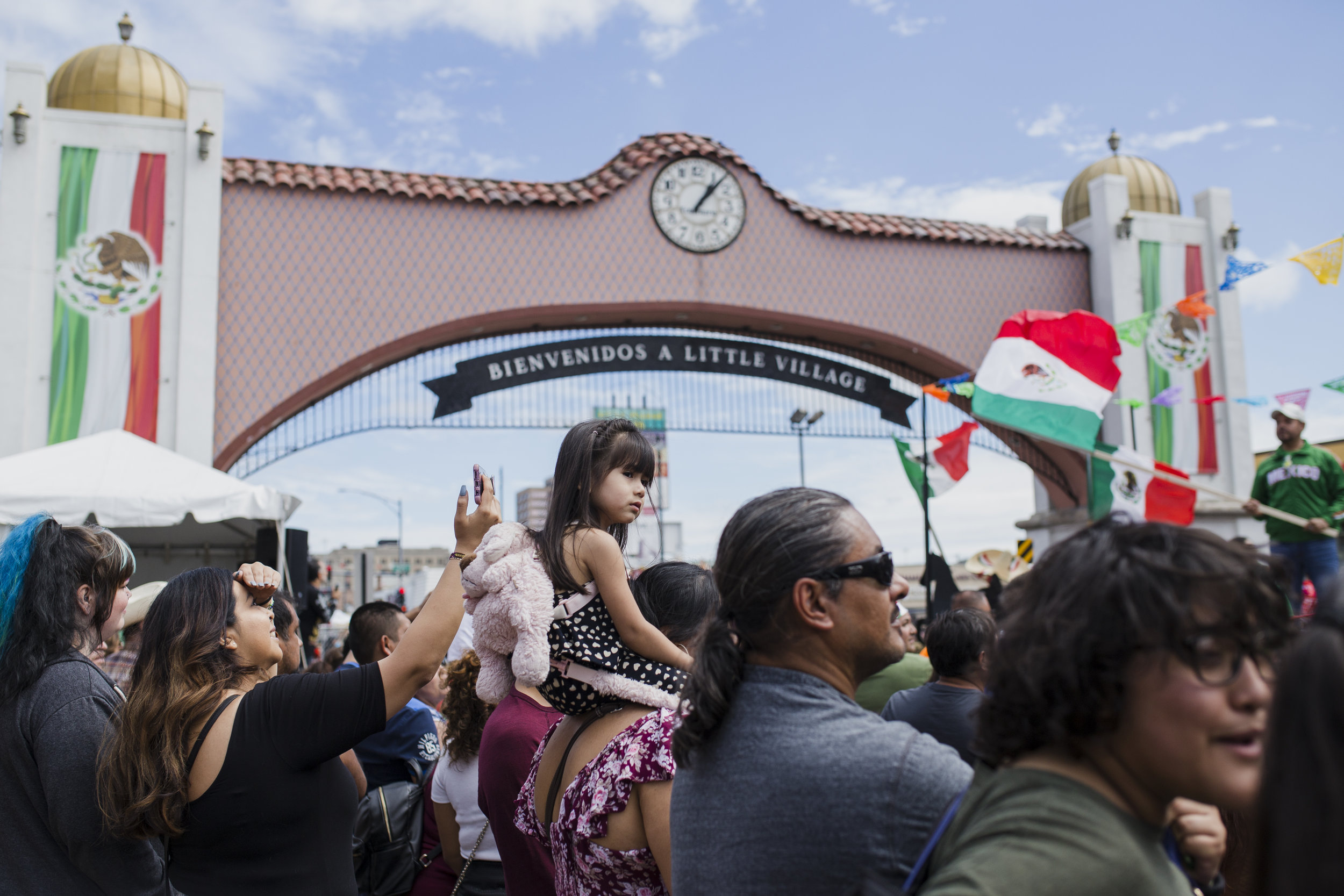 Thousands of people flocked to 26th Street to watch the Mexican Independence Day Parade.