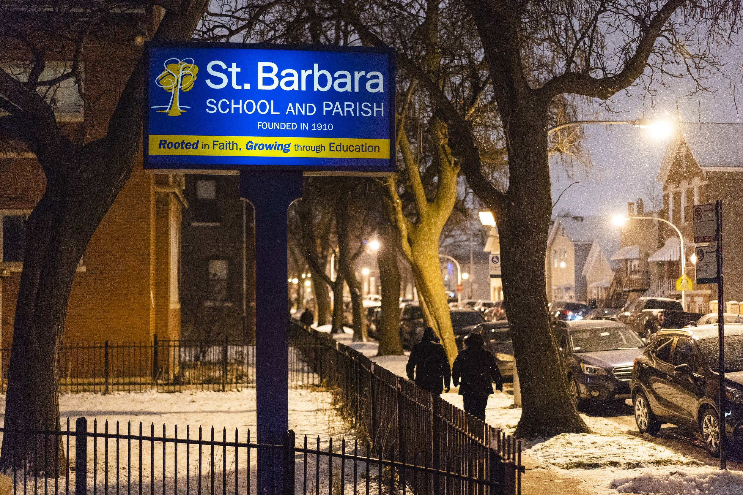 St. Barbara Parish and School were established in 1910.