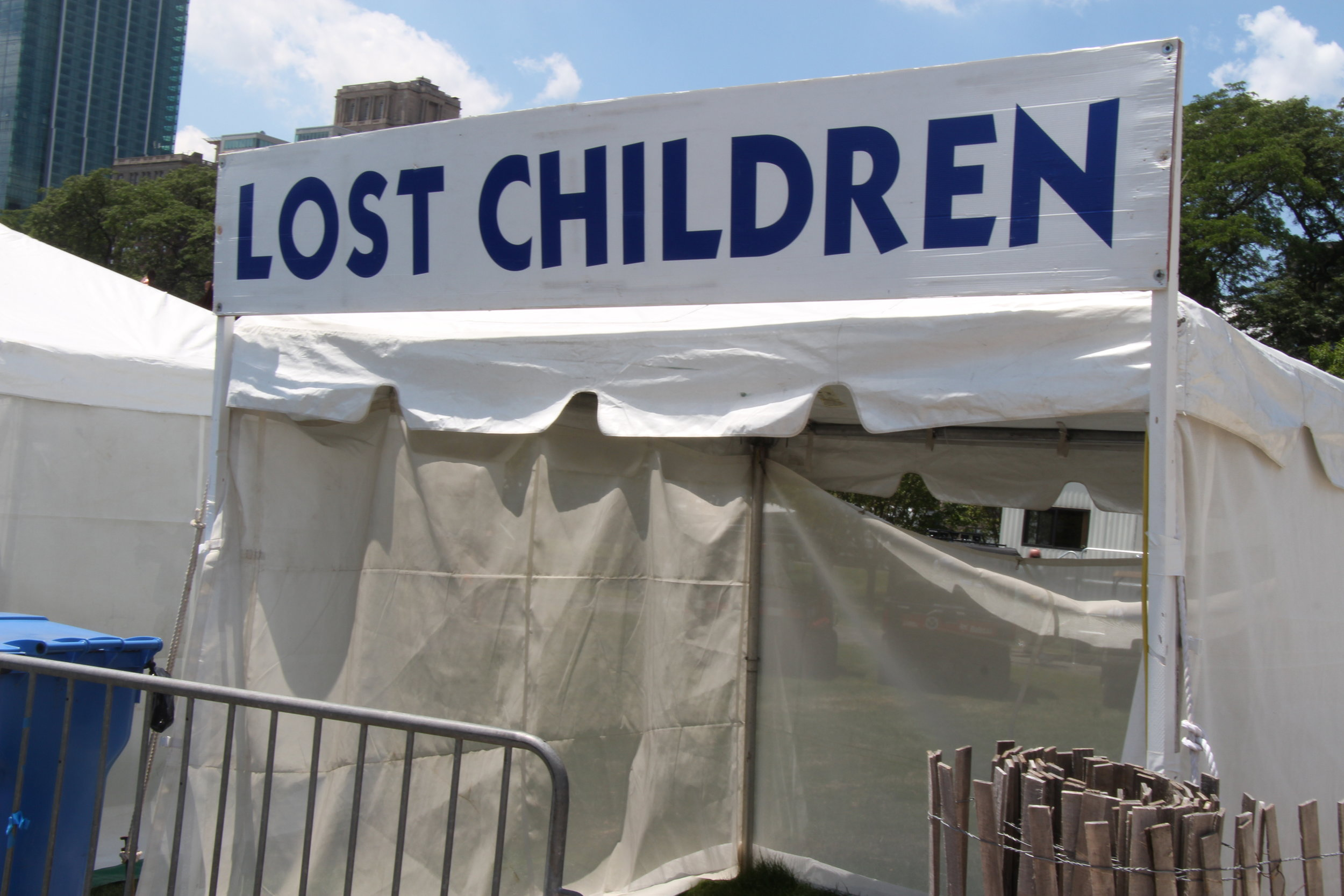 The Lost Children area that was located behind the Ferris Wheel at The Taste. Photo by Diana Adeniyi