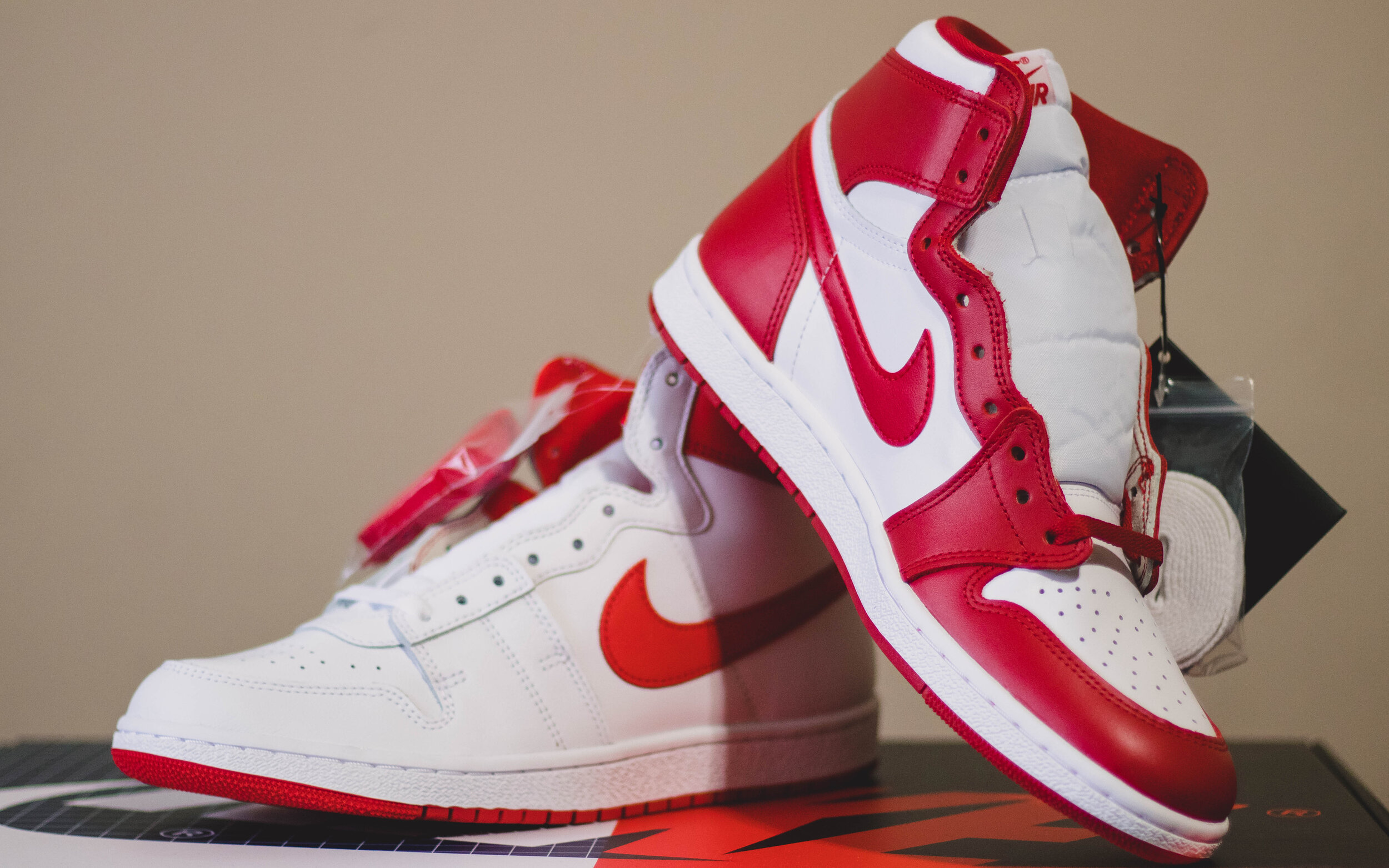 when was the first pair of jordans released