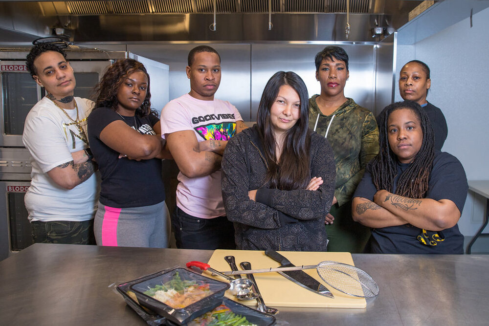 The worker-owners of ChiFresh Kitchen (source: ChiFresh Kitchen Facebook)