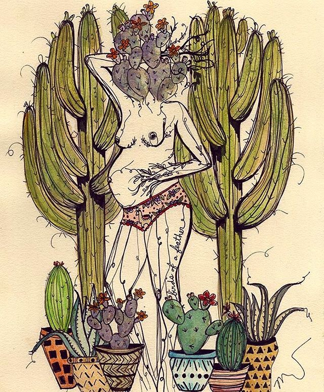 Loving these ultra femme illustrations from @marcyellis this AM 👉🏼 check out her page for more . . . #ohmygoddess #newblog #newblogpost #newblogger #femaleillustrator #illustration #nudes #artist #arizonaartist #artistsoninstagram #femalecreatives #createexploretakeover #succulents #succulentdesign #design #tattooideas #love #notsponsored #justawesome #repost #art #handdrawn #drawing #handmade #illustration_daily #surrealism