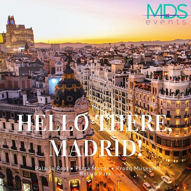 Featured destination of the week… #Madrid! Welcome to Madrid, a lively cosmopolitan and friendly city where everyone feels at home. #eventplanner #corporateevents #events #meetingplanner #meetings #eventprofs #eventprofessionals #spain