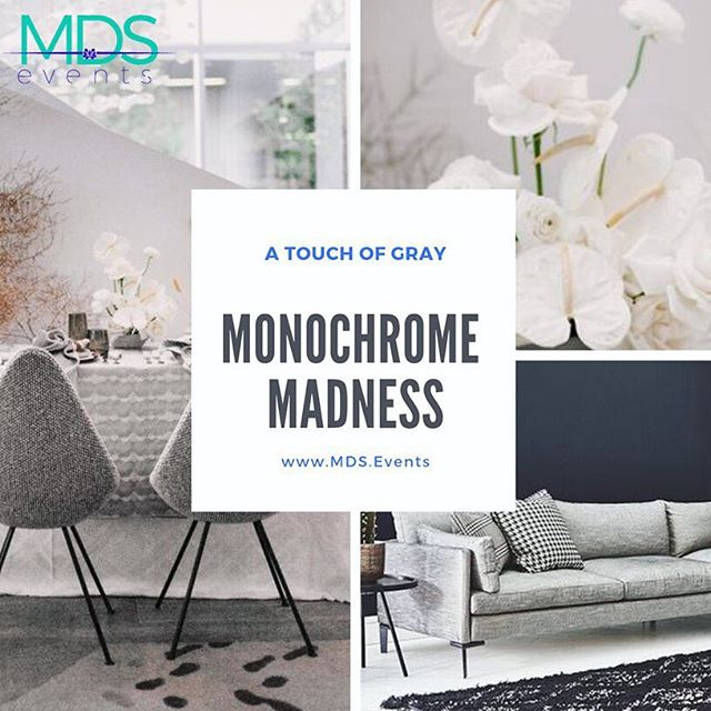 We are loving the MONOCHROME look right now! #monochrome #gray  #inspo #eventdesign #eventdecor #eventplanner #corporateevents #events #meetingplanner #meetings #eventprofs #eventprofessionals #corporatemeetingplanner