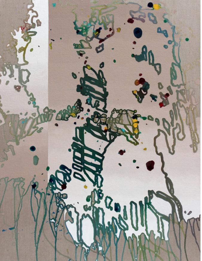 """Compound Interest"" - 122 x 91 cm"