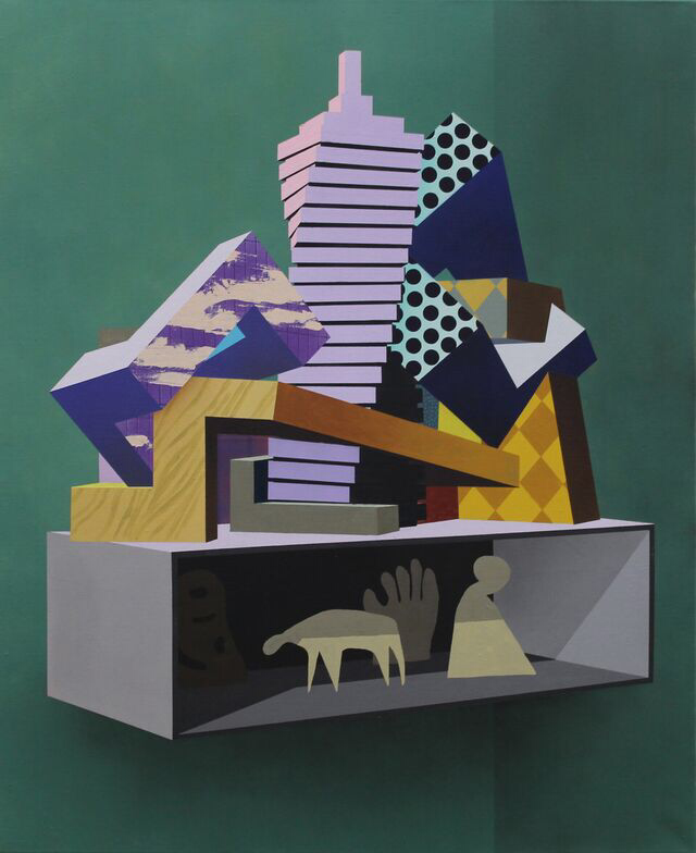 Architecture of inclusion - 135x110cm