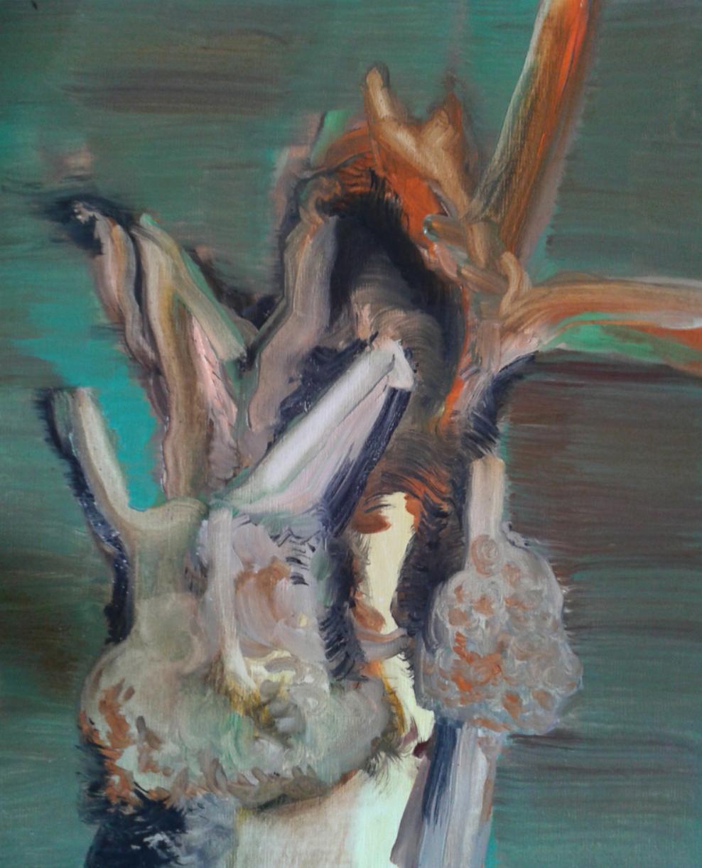 Dead tree 1st 38x46cm