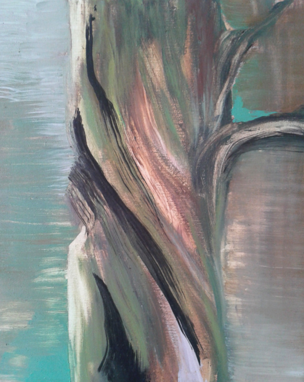 Dead tree 2nd 38x46cm
