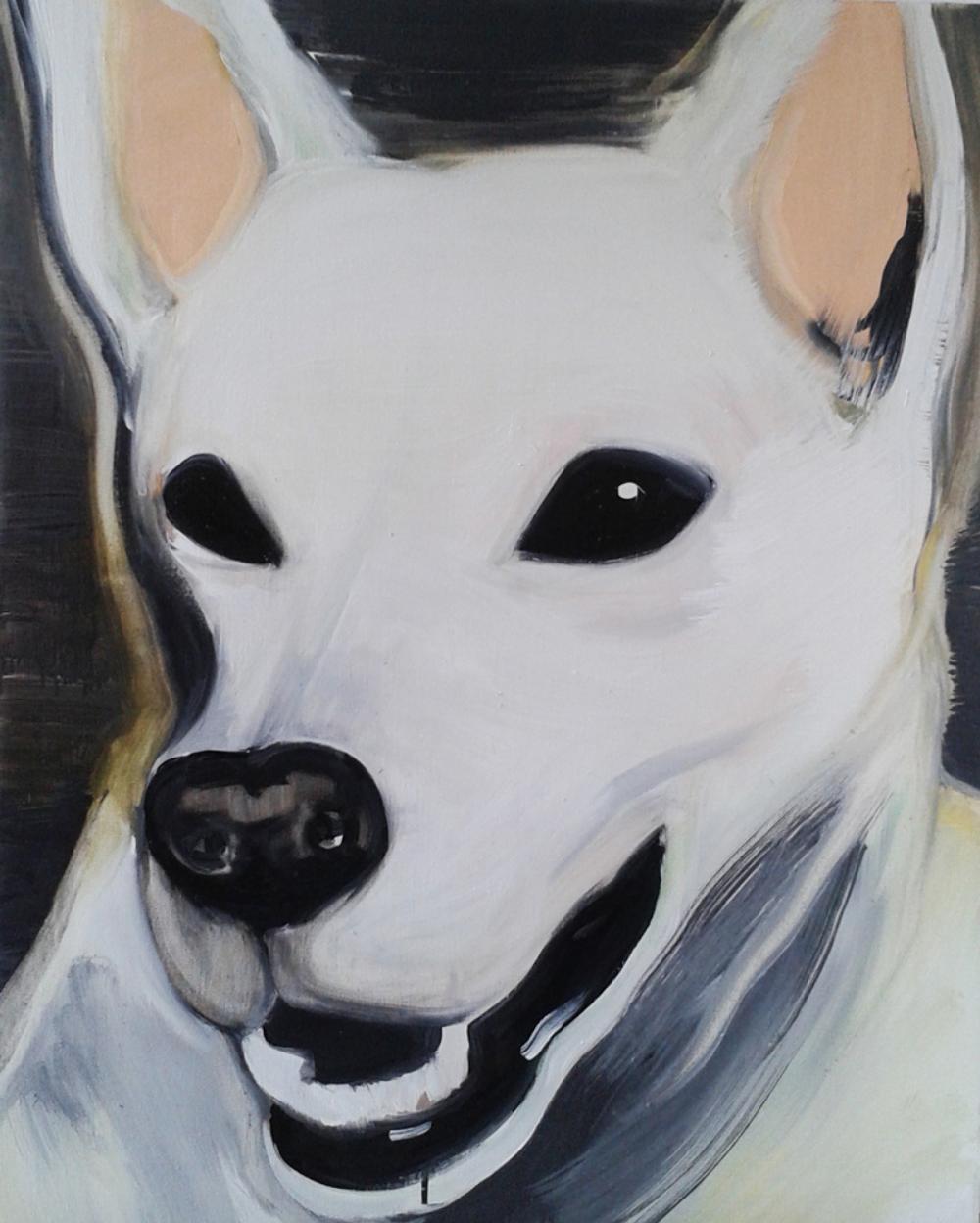 Dog Portrait 65x81cm