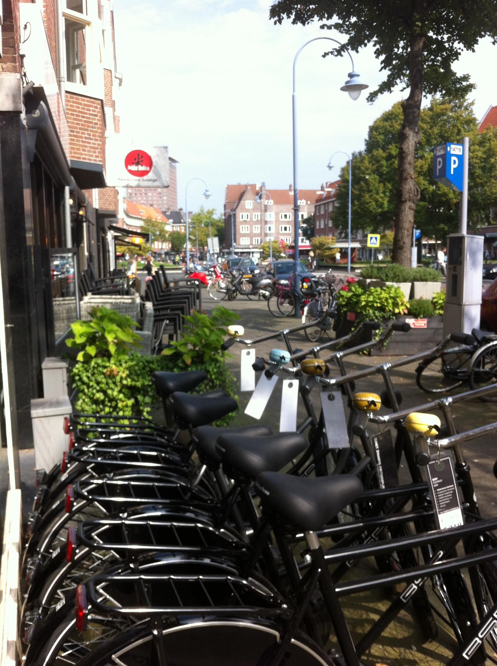 Maastratt bike shop.
