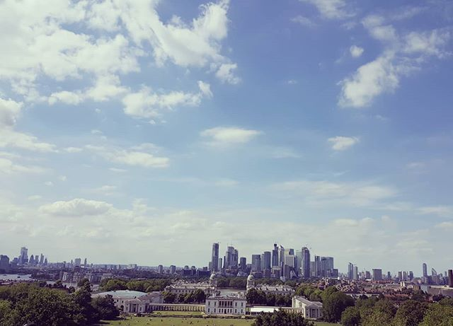 Views from my new area. Love living near a big park and feeling like you are away from the hustle of the city and of course surrounded by plenty of doggos. 🌳🐕🌿🐕 . . . . . . . . . . . . #greenwich #wellnesslondon #yogalondon