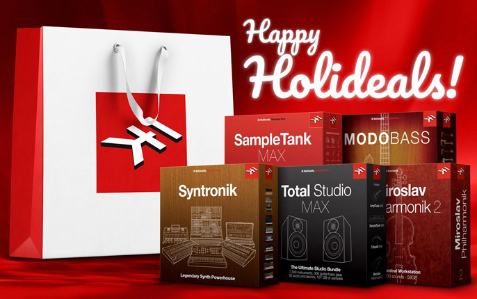 IK Multimedia Blackfriday plugins