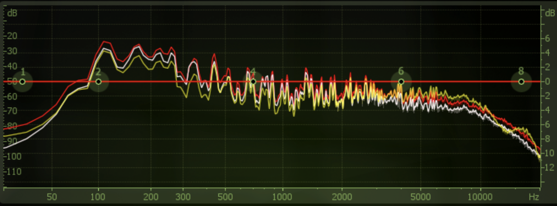 (FL studio EQ response comparison)