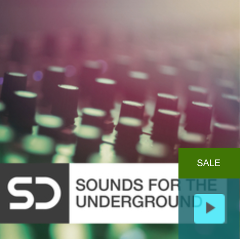 Sounds for the Underground - is a producers toolbox of loops and one shots that span the electronic genres. It's a musical journey inspired by the early Rave sound of the 90's, through to the present day sound of modern Bass.
