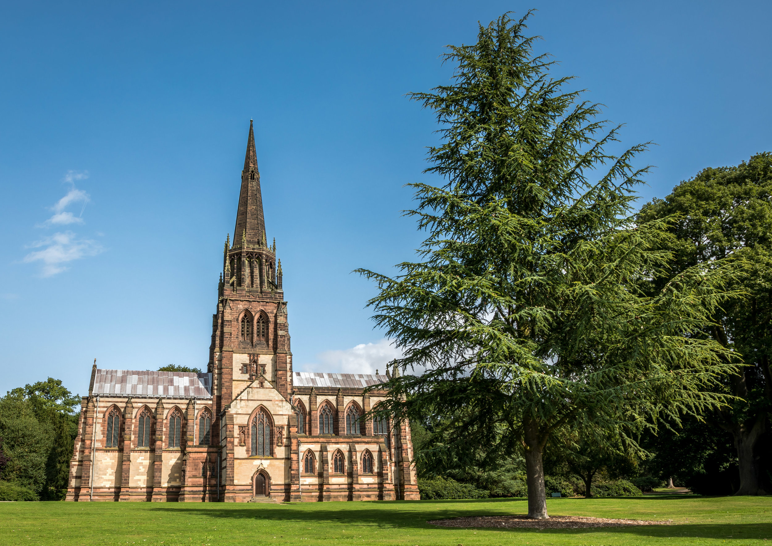 Clumber Park Church - Church of St Mary the Virgin -  BUY PRINT HERE