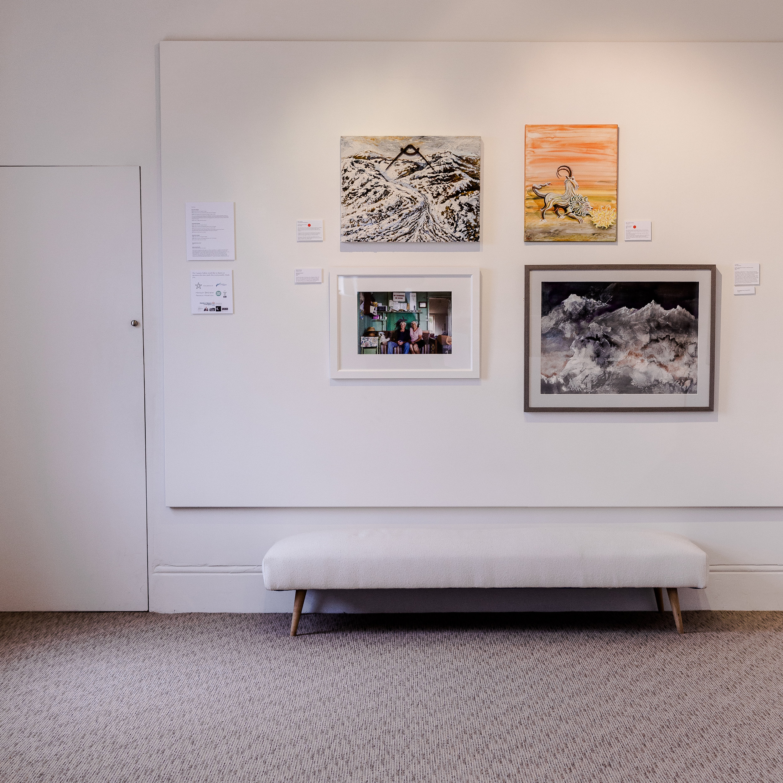 exhibitions - Showcasing solo and group work, community activities and members shows