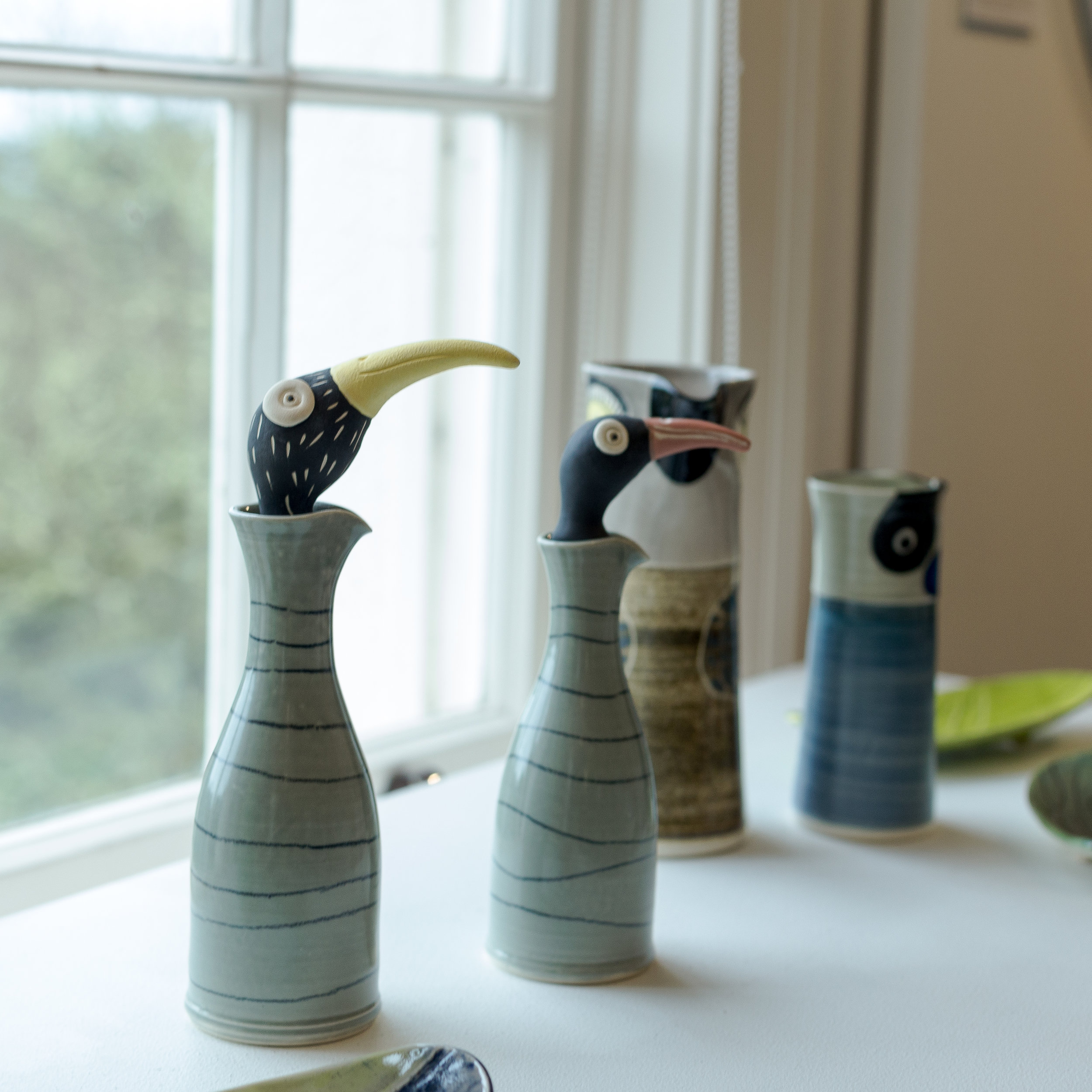 Ceramic Art at The Upstairs Gallery