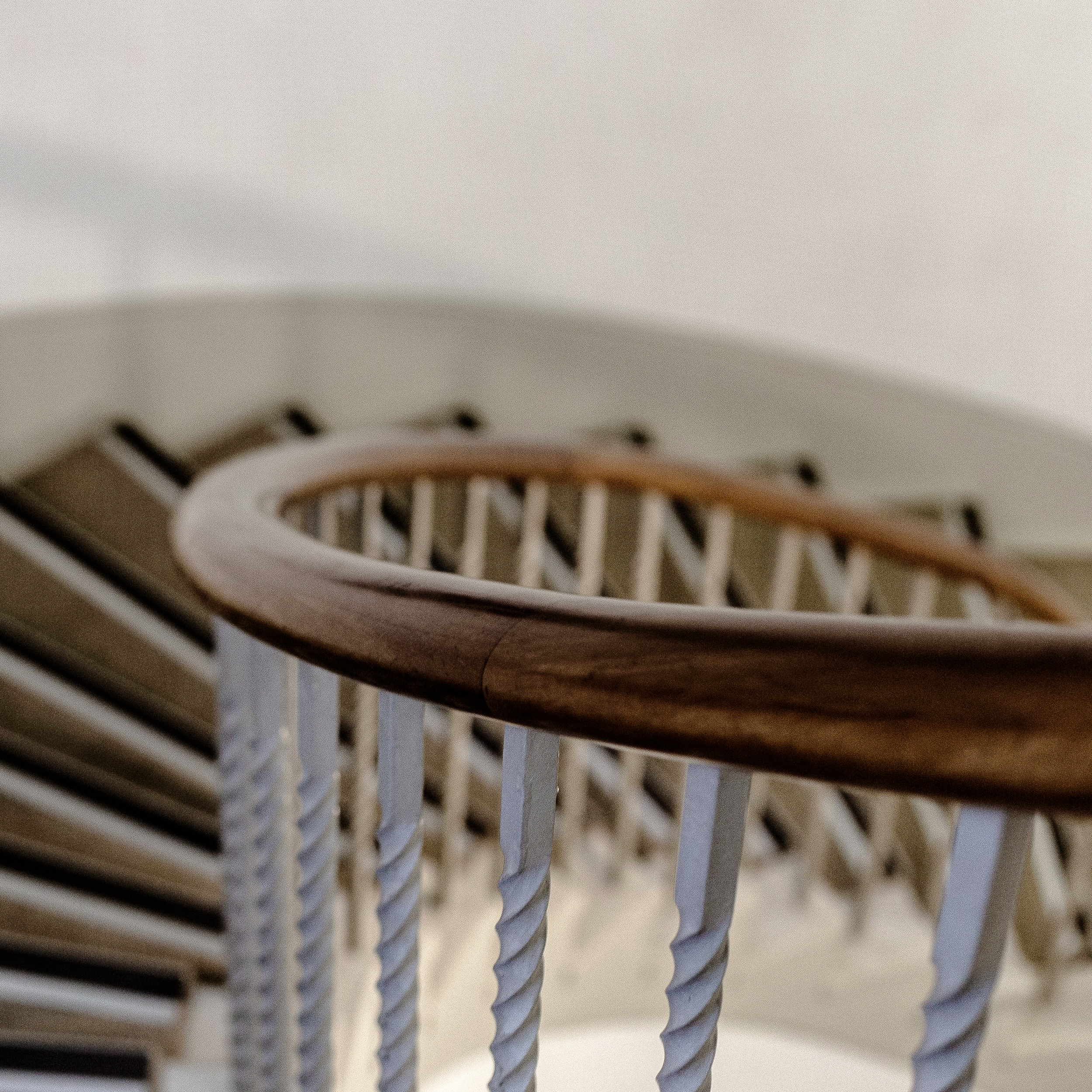 Art Deco Staircase in Lopdell House