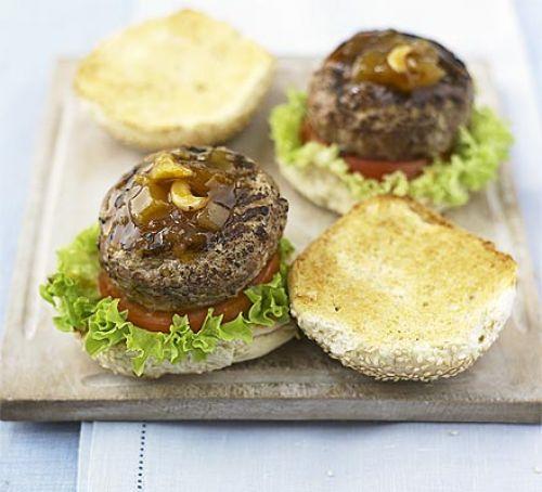 BBC Good Food's  Spiced Turkey burger  recipe