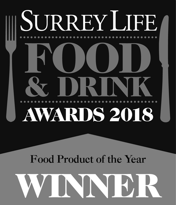 "Bramble Farm Turkeys - winners of the ""Food product of the year"" award 2018"
