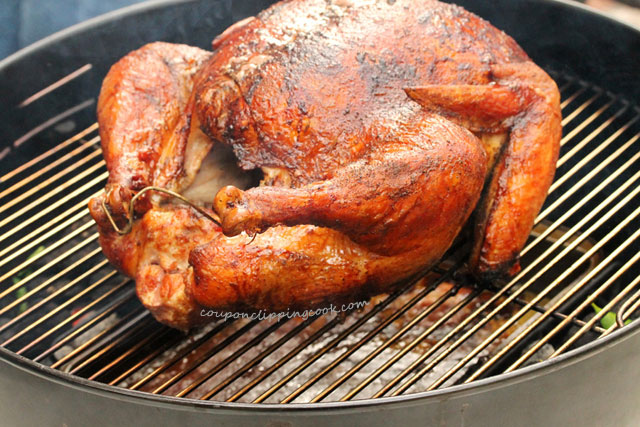 Cook a whole turkey on the BBQ  from Coupon clipping cooking