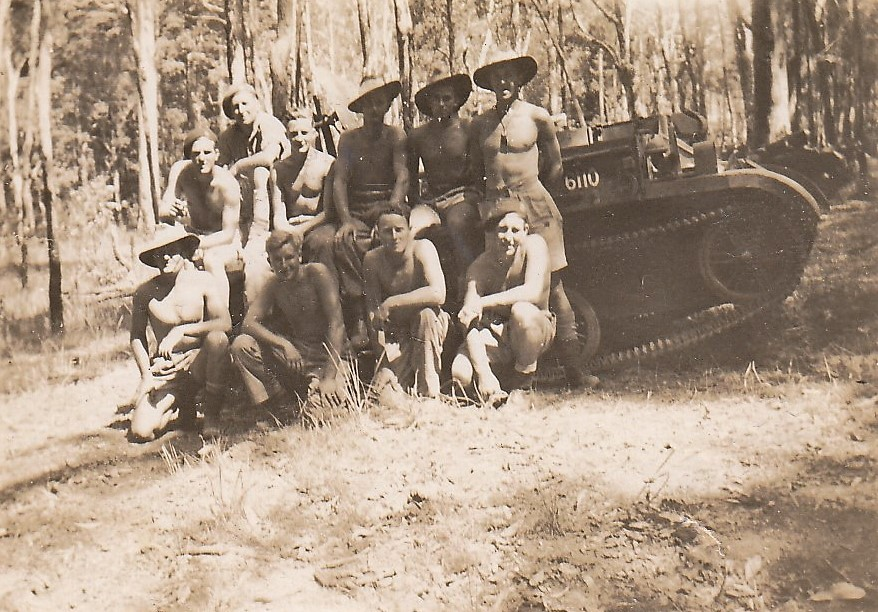 8th Cavalry Regiment (Victorian Mounted Rifles) in Northern Territory 1942.
