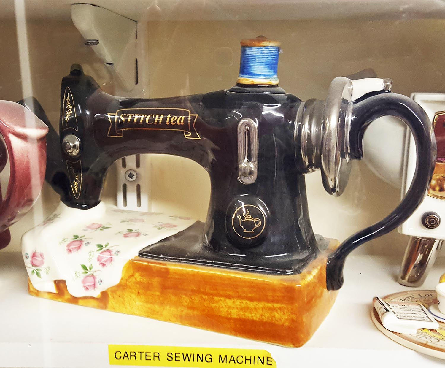 Sewing Machine Teapot, Teapot Island.jpg