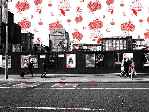 Glasgow Trongate/Merchant City - Red Crest