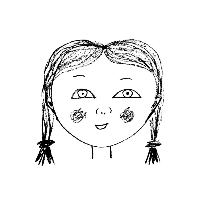 Girl-face, Rebecca Johnstone