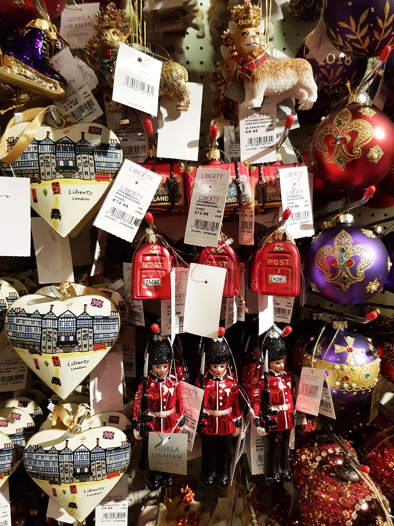 Christmas Shop @ Liberty 2018, Rebecca Johnstone