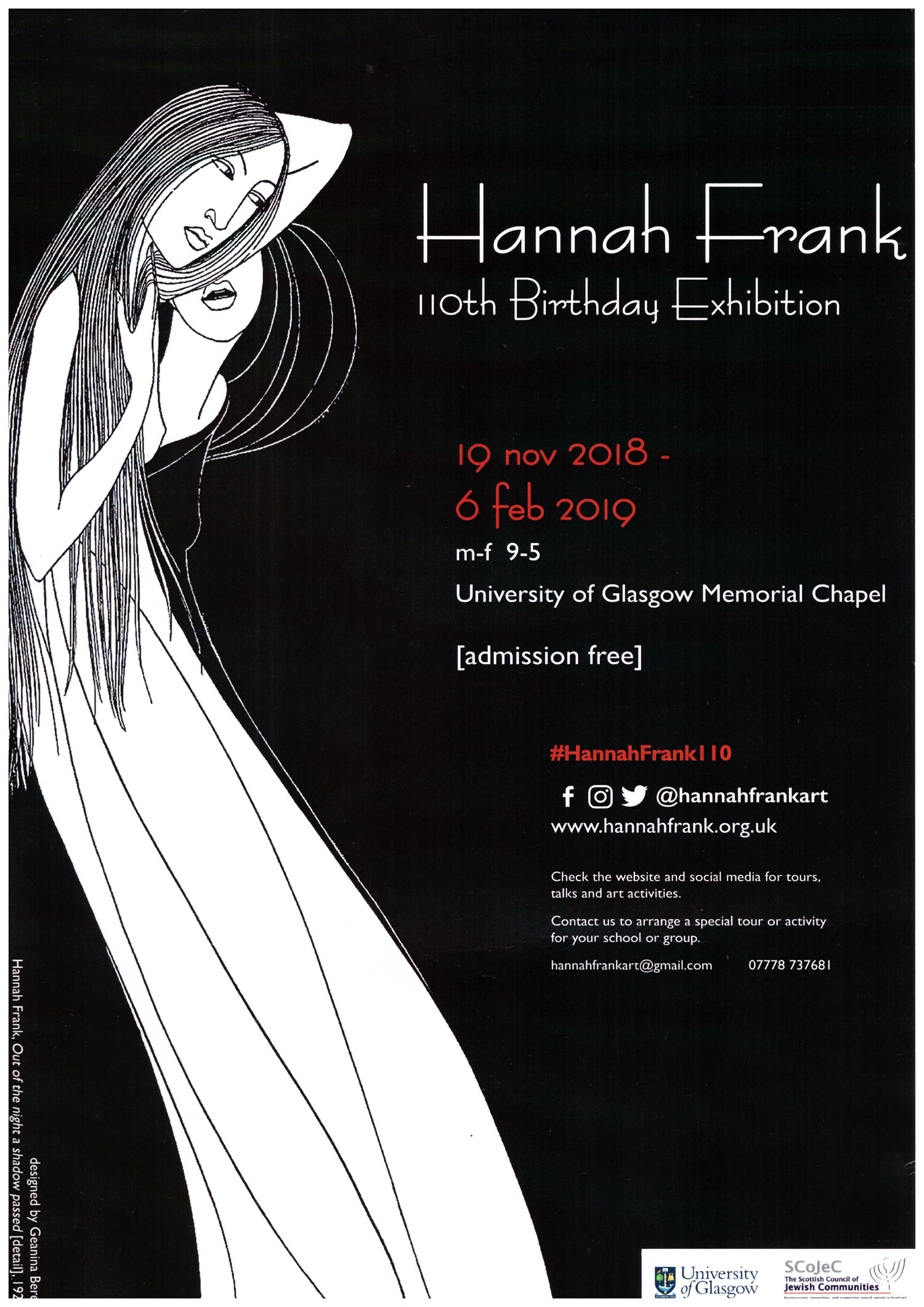 Hannah Frank 110th Birthday Exhibition, Rebecca Johnstone