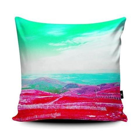 Rebecca Johnstone Cairngorm 1 - Pink - Cushion