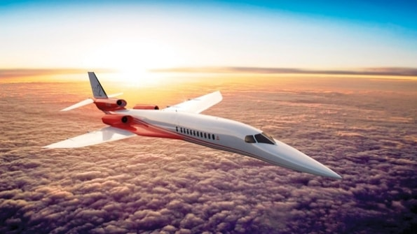 Aerion AS2, the supersonic business jet due to enter service in 2023