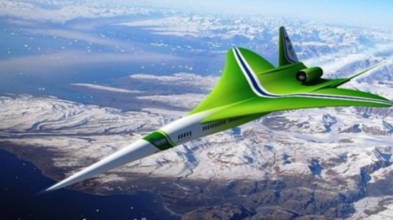 NASA's and Lockheed Martin's N+2 supersonic challenger to the Aerion