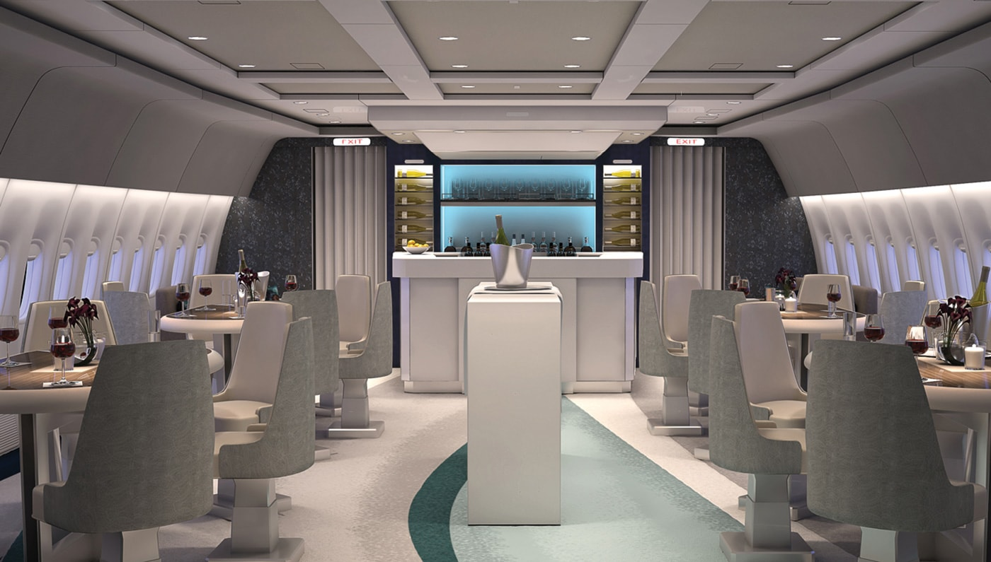 Crystal Skye boasts an on-board mixologist and a 200 bottle wine cellar