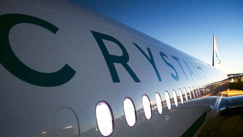 Tickets to fly on the luxury Crystal Skye Boeing 777-200LR start from £13,400 ($18,000) per person
