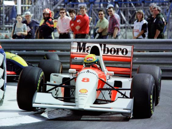 Legend Ayrton Senna holds the record for 6 wins at the Monaco Grand Prix