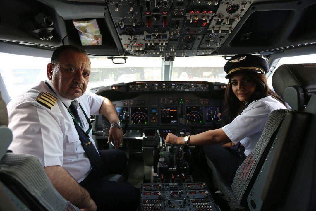 Women who inspire us,Warte Abubakir Ali - Boeing 737