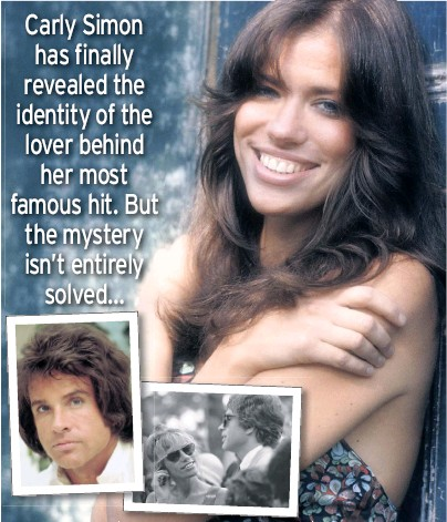 Carly Simon's mystery solved?