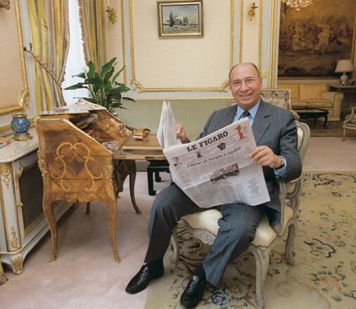 Dassault and his family also own France's daily newspaper, Le Figaro