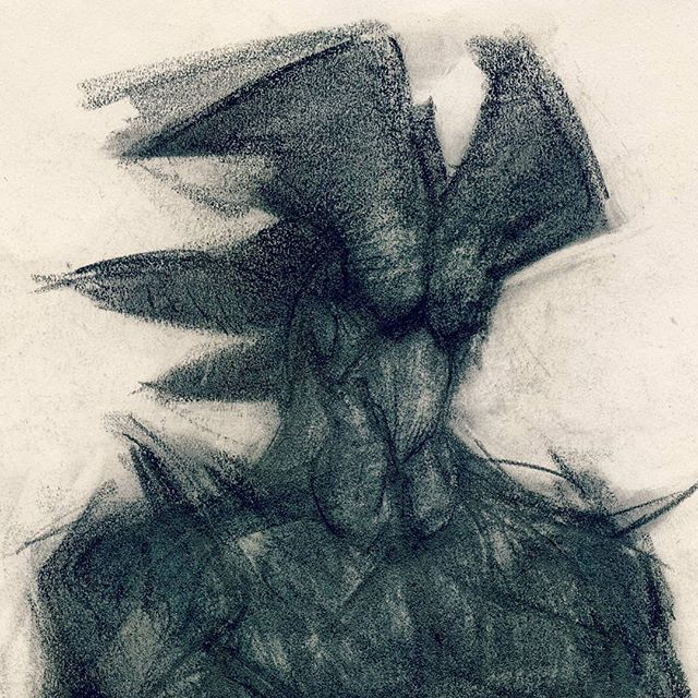 "Ayam 1 (crop) Graphite 14x17"" Scan and artist statement up on the Patreon. Link in bio. . . . . . . . . . . . . . . . . . . . . . . . . . . .  #artsantafe #santafeciudad #santafeart #beokay #furriesofinstagram #darkartwork #anthrofurry #anthropomorphism #anthropomorph #animalpeople #twitchcreates #masculinestyle #selftherapy #arttherapy #darkskinmen #blackmuscles #postchristian #jungian #exvangelical #rooster"