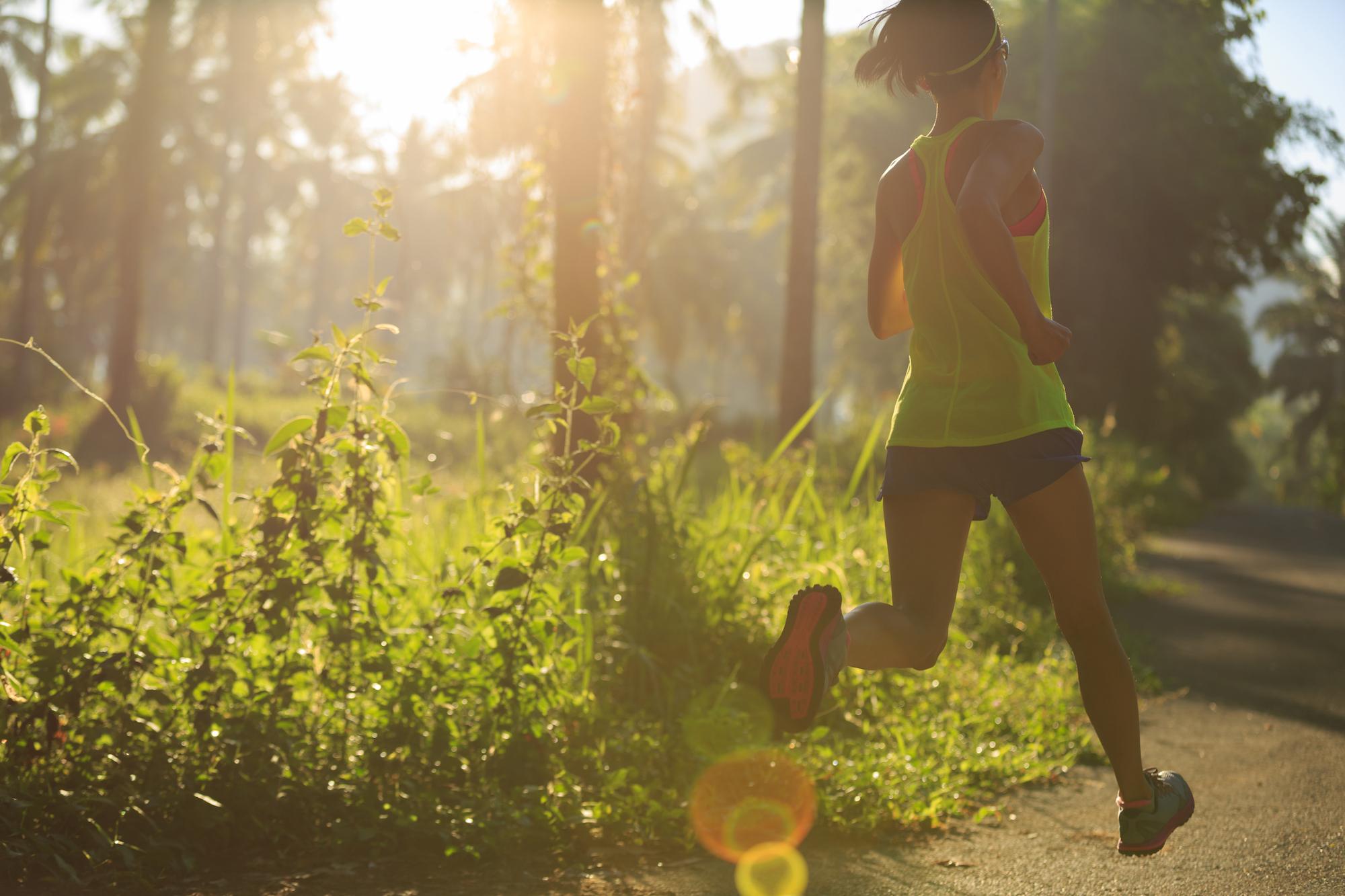 running-in-sunrise-forest-PDMH5X6.JPG