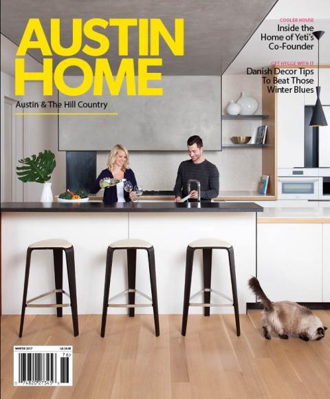 """""""Go Inside This Light Filled Mueller Home,"""" Austin Home Magazine, Winter 2017"""